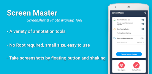 Screen Master: Screenshot & Longshot, Photo Markup - Apps on