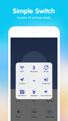 Assistive Touch (Holo Style) 2.5 screenshots 2