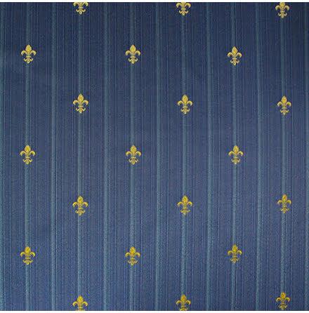 Fransk Lilja Stiltyg - blå