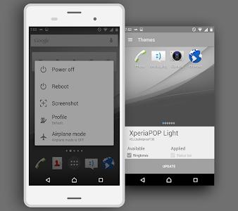 XperiaPOP Light CM12 Theme v0.0.2
