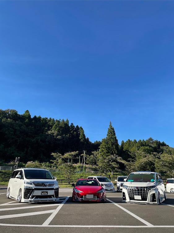 ヴェルファイア AGH30Wの変態MT,みちのく杜の湖畔公園 MT,帰宅は午前3時すぎ💦,流石にハードスケジュールすぎた😂,ほぼ24時間起きっぱなし🤭に関するカスタム&メンテナンスの投稿画像9枚目