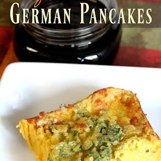 Herby German Pancakes.