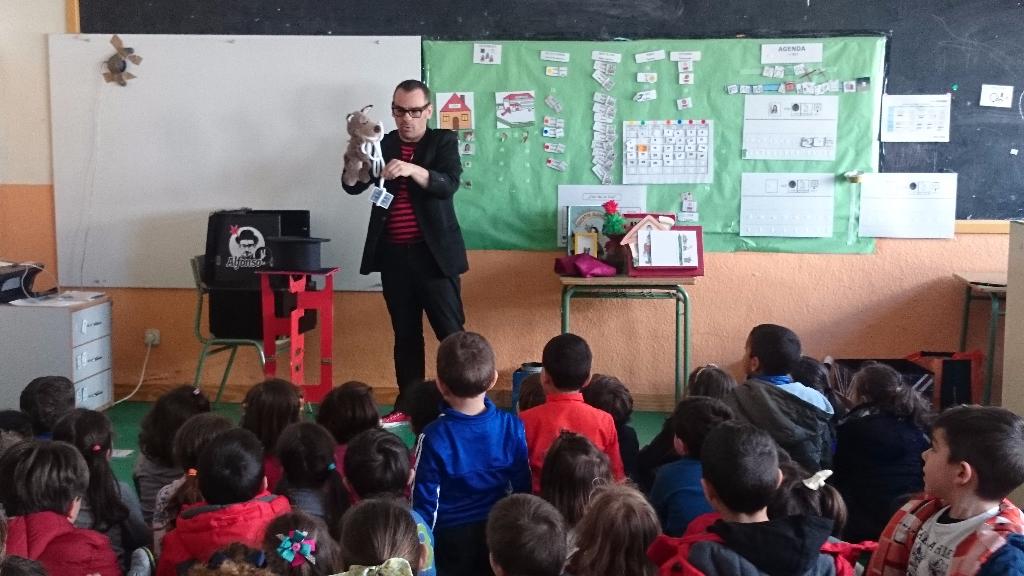 magia y marionetas en show para colegios madrid
