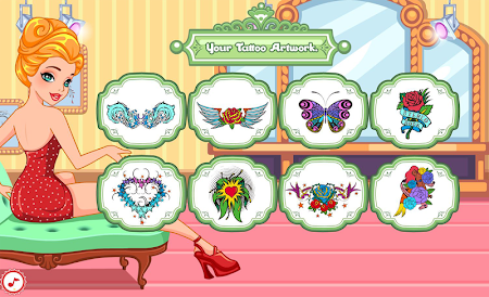 Tattoo designs salon 1.0.2 screenshot 540407