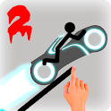 Stickman Racer Road Draw 2 Heroes icon