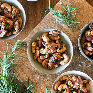 Rosemary Spiced Mixed Nuts Recipe