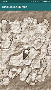 DinoTools: ARK Survival Map - náhled