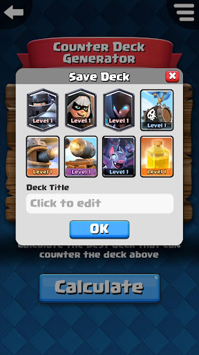 Counter Deck Generator for Clash Royale 2.0.0 PC u7528 5