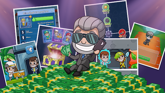 Idle Miner Tycoon MOD Apk 2.69.1 (Unlimited Coins) 2