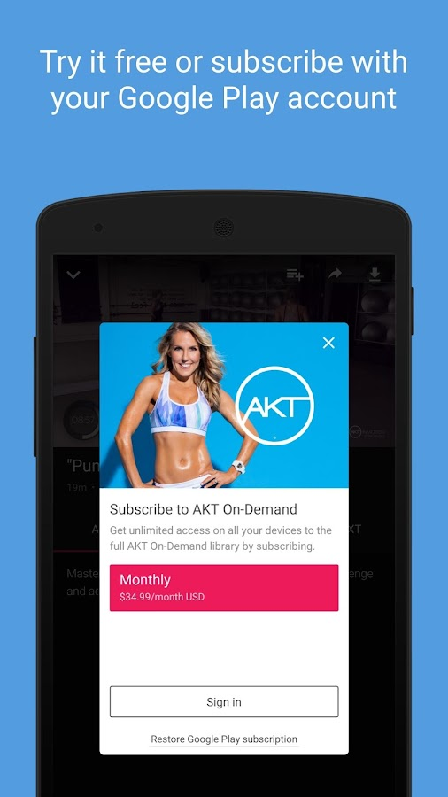 AKT On-Demand- screenshot