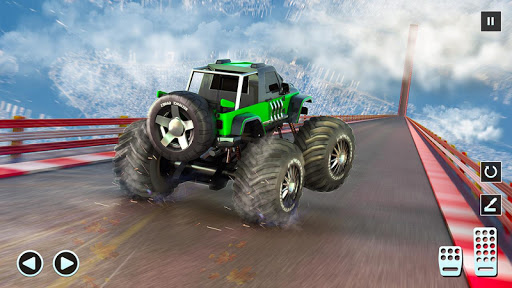 Monster Truck Mega Ramp - Extreme Stunts GT Racing  captures d'écran 2