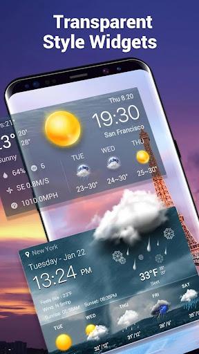 الطقس العنبر screenshot 7