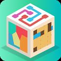 Puzzlerama - Lines, Dots, Blocks, Pipes & more! icon