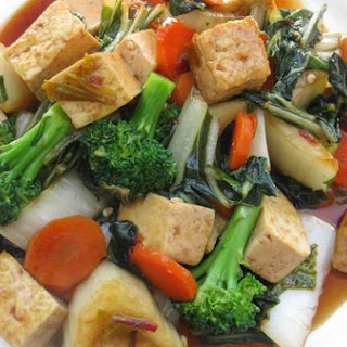 Thai Tofu With Bok Choy