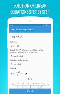 Math Equation Solver Screenshot