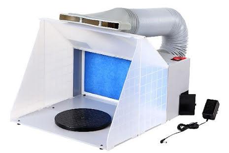 PANZAG SPRAY BOOTH INCL. AIR HOSE 100-240V