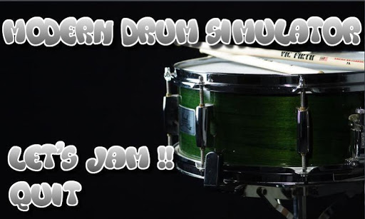 Modern Drum Simulator