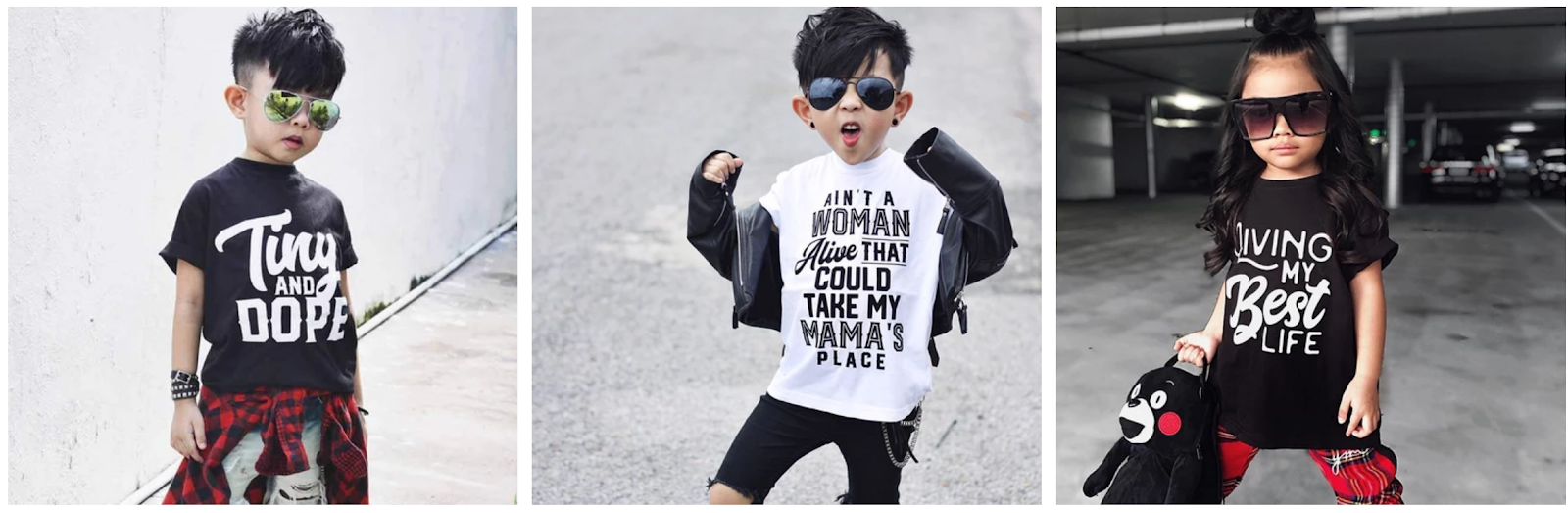 Funny Kids Graphic Tees — Baby Truth