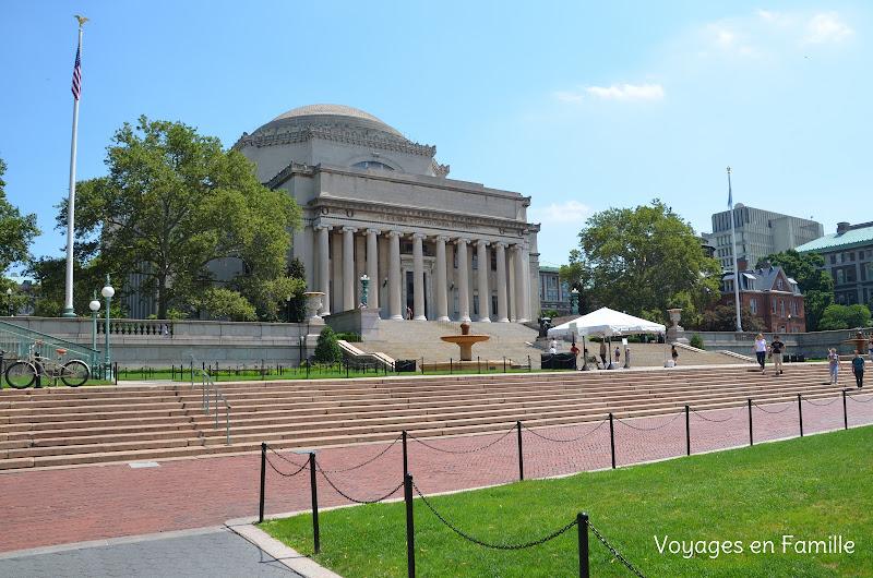 Columbia, visitor center