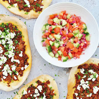 Turkish Spicy Lamb Pizzas (Lahmacun).