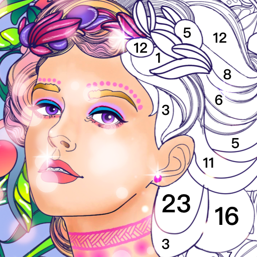 Magic Paint -  couleur par numéro