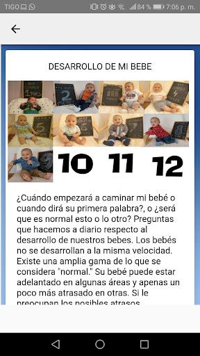 desarrollo y cuidado de bebes mes a mes concejos  Wallpaper 5