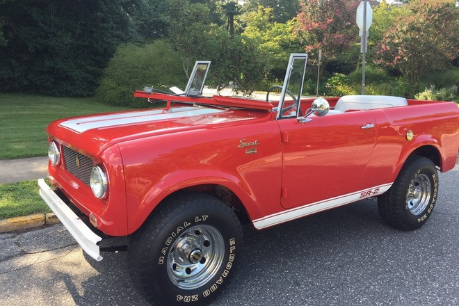 1965 International Scout 80 Hire DE