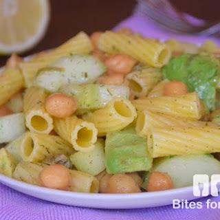 Chickpea Pasta Salad.