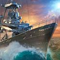 Warship Fury-the best naval battleships game. icon