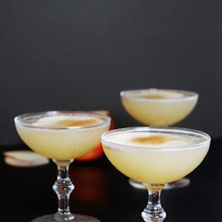 Apple Lavender Pisco Sour Cocktail