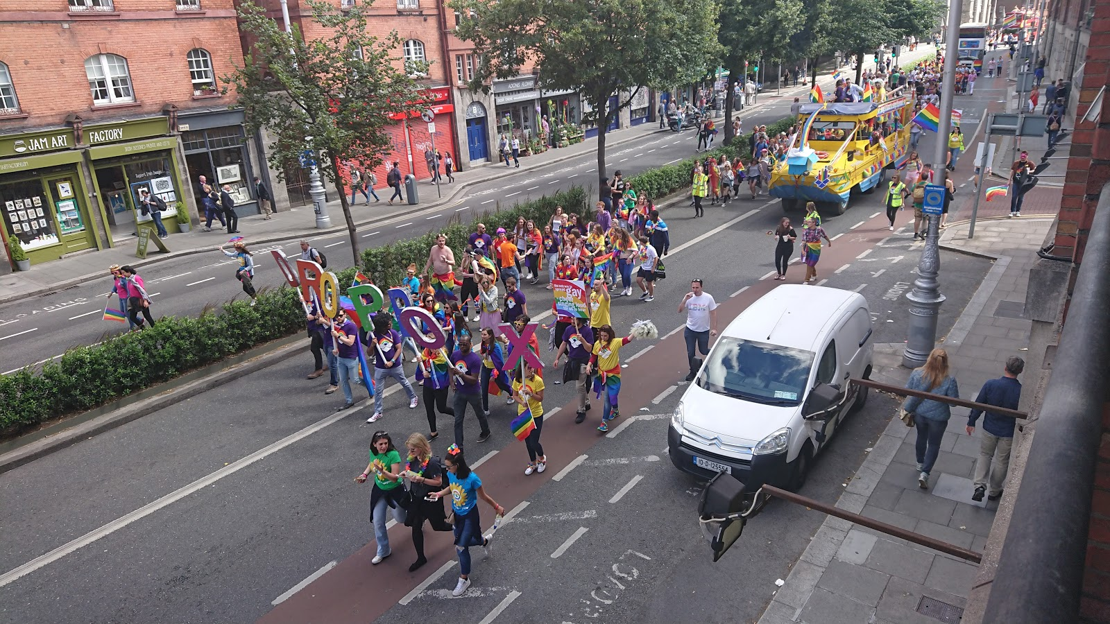Dropbox in Dublin Pride 2017