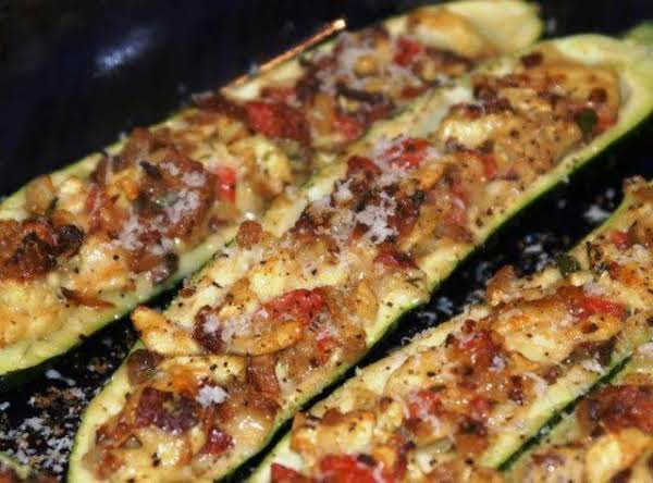 Suffed Zucchini Recipe