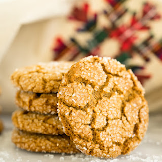 Gingery Ginger Snap Cookies.