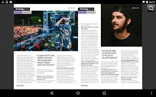 Screenshot of Mixmag Global