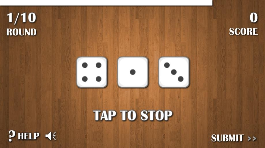Dice Game - Free- screenshot