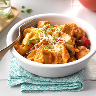 Saucy Chicken & Tortellini.