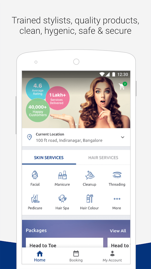 AtHomeDiva - Beauty Services- screenshot