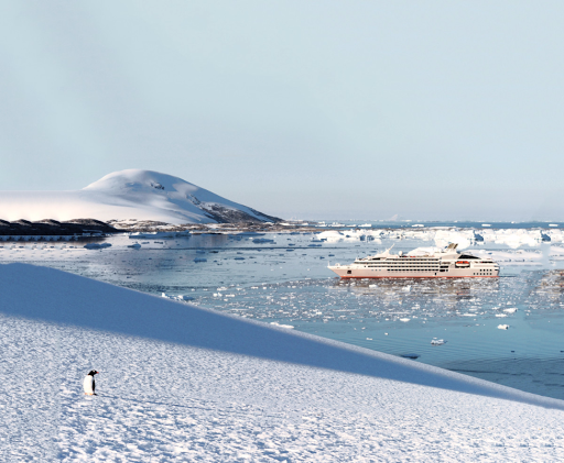 Experience the raw beauty of Antarctica on a Ponant expedition cruise.