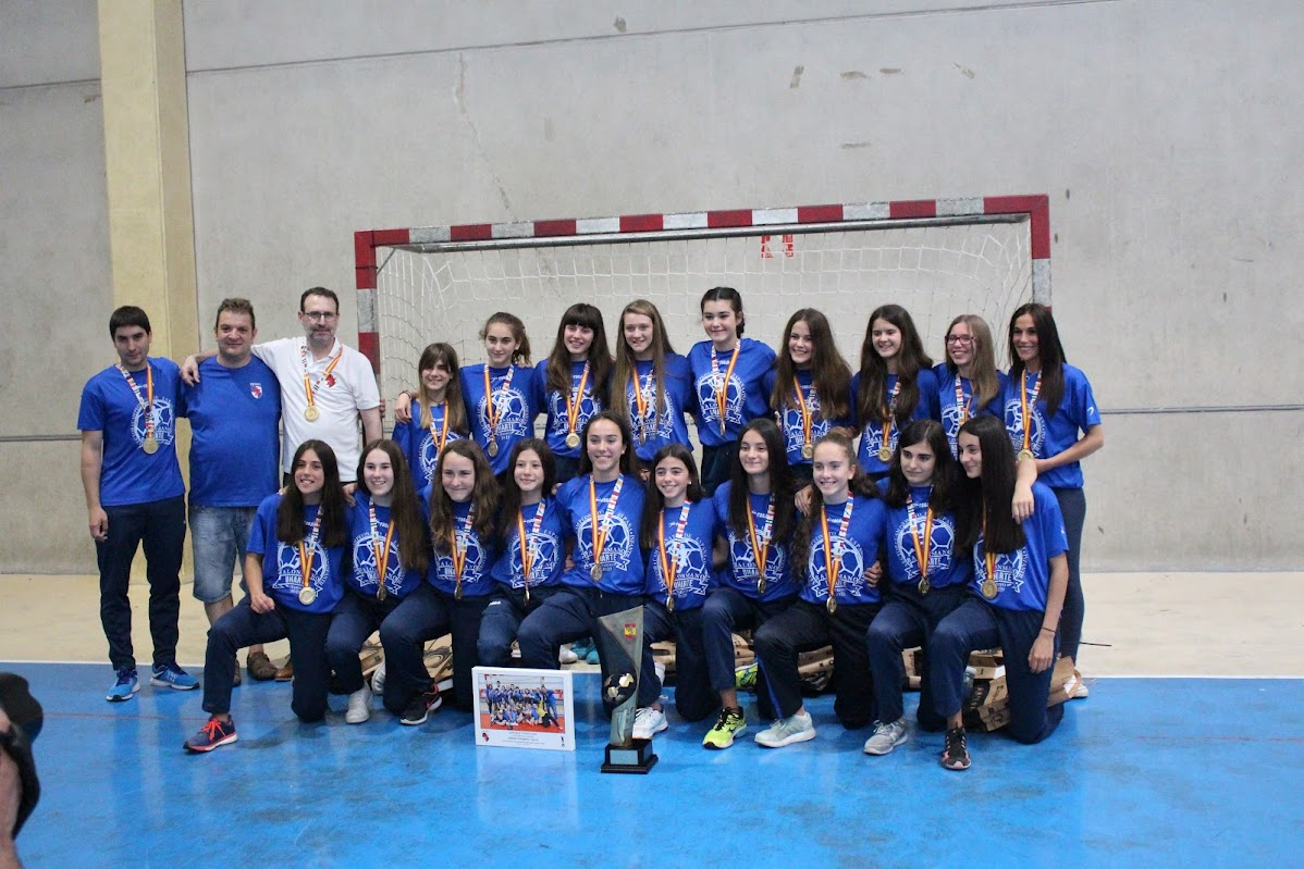 Homenaje a las campeonas de Espa�a
