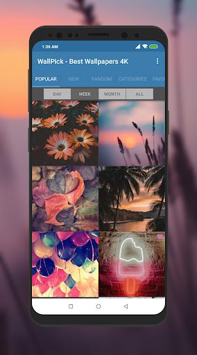 Best Wallpapers 4K - WallPick screenshot 1