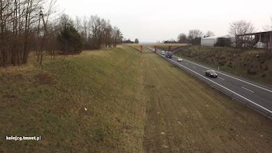 Photo: S3 w kierunku południowym z wiaduktu kolejowego