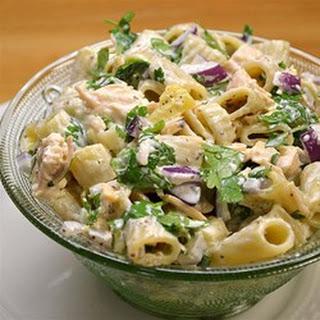 Classic Macaroni Salad with a Twist.