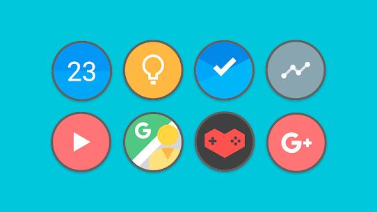 Flat Circle – Icon Pack 4