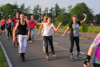 Photo: 2016-06-01 3e Haarlem Night Skate door Velsen