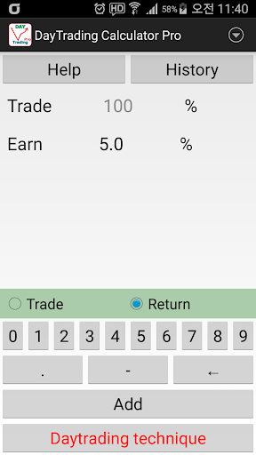 Day Trading Calculator Pro