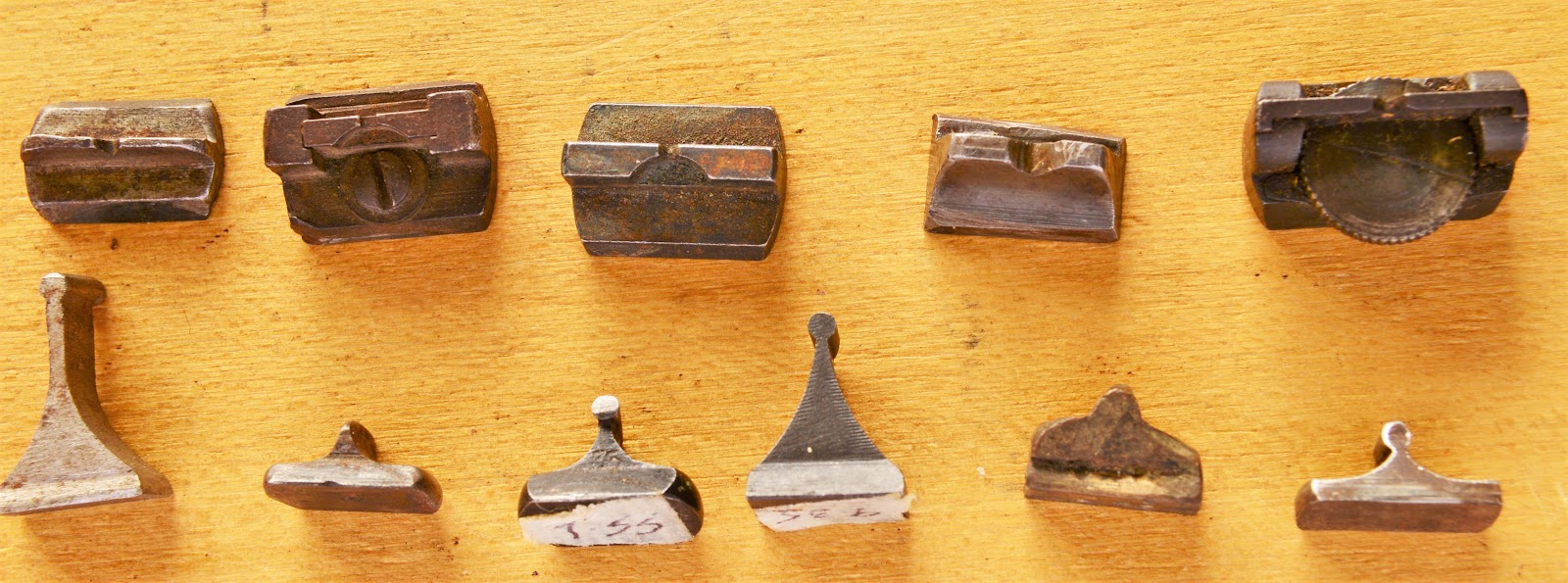 An array of classic open sights