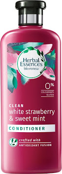 Herbal Essences Biological Renew Conditioner - White Strawberry and Mint, 400ml
