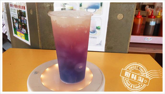 台灣雷夢-蝶豆花檸檬冰茶