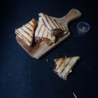 Grilled Cheese Sandwich with Spiced Onion Relish Recipe