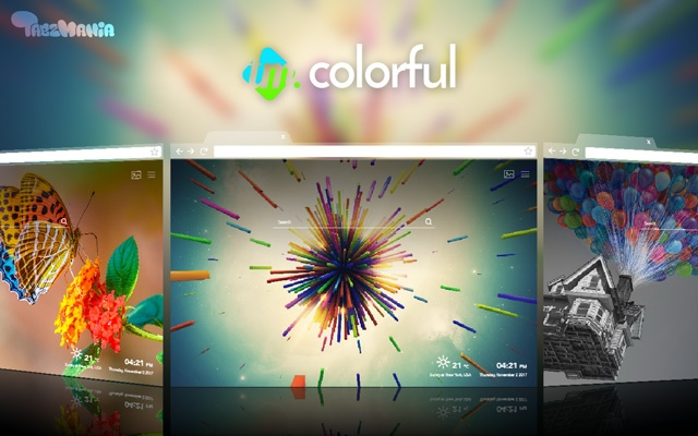 Color up your Tab – Colorful Wallpapers
